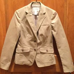 Banana republic stretch blazer size 0